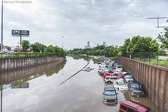 #HoustonFlood 05-26-2015   022 (@iseenit_RubenS   R.Serrano Photography) Tags: news cars weather texas underwater flood main north houston 45 freeway floods houstontx 2015 houstonflood texasfloods texasflood