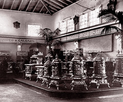 Cast Iron Stoves, Toronto Exhibition -- 1908 (JFGryphon) Tags: toronto 1908 oldtoronto torontoexhibition castironstoves ansonmcnish