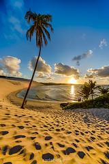 Praia de Genipabu/RN (Carla Belke) Tags: sunset beach hdr poente 1224mmsigma canon6d