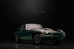 Jaguar E Type Series I Coupe 3.8 (aJ Leong) Tags: e type series jaguar 38 roadster 118 autoart i