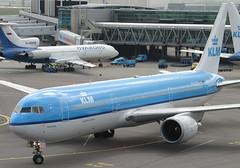 PH-BZK B767-300 KLM (JaffaPix +5 million views-thanks...) Tags: airplane airport aircraft aviation aeroplane airline klm schipol kl ams airliner eham 25may05 b767300 amsterdamairport phbzk jaffapix davejefferys