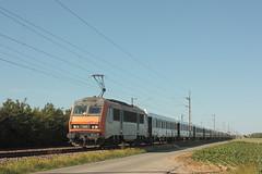 BB 26139 / Thiennes (jObiwannn) Tags: train locomotive sncf sybic vsoe ferroviaire