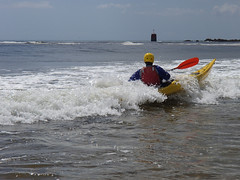 surf en kayak à guidel