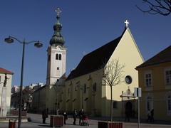 Franciscan Church, Szombathely, Hungary (Norbert Bnhidi) Tags: hungary szombathely church ungarn hungra hongrie ungheria hungria hongarije  magyarorszg steinamanger sambotel sombotel kamenec