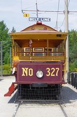 No 327 (jmaxtours) Tags: ontario museum ttc beltline haltoncountyradialrailway no327