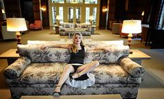 Baroness Of The Empire (Jorg-AC) Tags: upskirt classy blonde milf sexy legs heels beautiful femme frau woman lady hot redlips longhair nonnude showingoff public hotel germany elegant lovely pretty