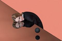 """Illusionary Prisms"" (Gabriel Isak) Tags: fashion geometry surrealism sphere"