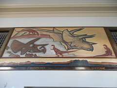 Kemmerer Wyoming Post Office Mural (jimmywayne) Tags: mural postoffice historic wyoming newdeal nationalregister lincolncounty nrhp kemmerer