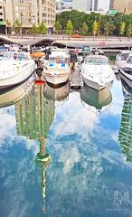 Toronto Water Image (kaprysnamorela) Tags: toronto ontario canada harbourfront image mirrorimage nikond3300 water lake