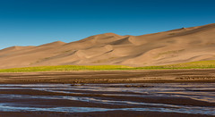View from Medano River (jfusion61) Tags: medano river great sand dunes national monument colorado morning summer nikon d810 water mud