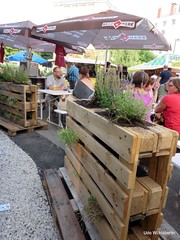 Begrünte Holzpaletten_8944 (urban-development) Tags: urban gardening stadtökologie lebensqualität wien