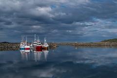 St Harbour (g_heyde) Tags: langya vesterlen norway norwegen hafen xpro1 stharbour st reflection