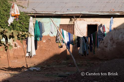 Laundry and shade