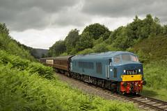 D182 2J65 (DM47744) Tags: park railroad blue nikon experimental diesel country peak rail railway loco class rails british locomotive preserved railways elr 46 preservation burrs sulzer eastlancashirerailway diesels 46045 d182 2j65 d3100