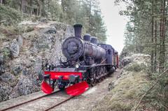 Krderbanen - Norway (Krnchen59) Tags: krderbanen eisenbahn dampflok steamengine museumszug vikersund norwegen norway norge krnchen59 elke krner pentax ks2