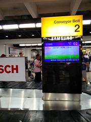 Luggage conveyor at CGK (A. Wee) Tags: jakarta airport cgk indonesia    soekarnohatta arrival terminal