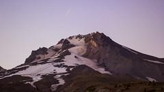 Mt Hood at Sundown (Dave In Oregon) Tags: timberlinelodge mthood mounthood oregon sunset snowcats ski