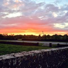 Duleek Meath Ireland (jwhiteireland) Tags: red sky dusk