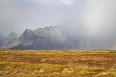 Iceland - Snæfellsnes (Adeline Kristjánsdóttir) Tags: ciel couleur flou lumire montagne paysage snaefellness lumière