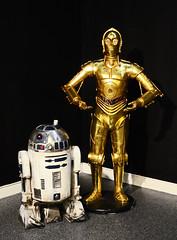 Famous Couple. (curly42) Tags: robots r2d2 c3po starwars figures gloucestercitymuseum
