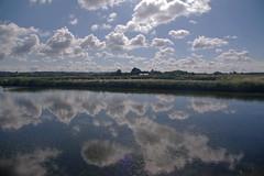 Reflets dans les marais salants (jmsatto) Tags: reflets maraissalants etang nuages laturballe loireatlantique presquledegurande
