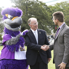 341A0016 (Governor Robert Bentley) Tags: montgomery alabama usa school spirit swac ncaa auburn aubie blaze dragon uab cocky gamecock jacksonville freddie the falcon montevallo north west troyuniversity aum university south uah state athens