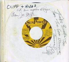 """Sons of Garvey"", Jimmy Cliff & Joe Higgs, 1979. (Autographed by both) (CV Uribe) Tags: marcusgarvey jimmycliff sunpower records reggae rootsreggae"