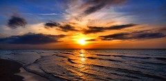 Warming (digitaloptics) Tags: sunset summer sun sea ocean beautiful beach view clouds water wave waves sky skys landscape lake nature sand canon outdoor photo photograthy hot cuba waterscape sunscape dusk explore beauty land world star earth gold golden colours colour