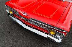 It's Terrifico! (GmanViz) Tags: gmanviz color car automobile detail goodguysppgnationals nikon d7000 1959 chevrolet elcamino custom streetmachine grille bumper headlights hood chrome