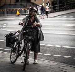 Biker (Henka69) Tags: bike biker street streetphoto streetcolour stockholm candid people
