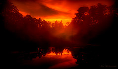 Ethereal Spirit (JDS Fine Art & Fashion Photography) Tags: ethereal spiritual red orange sunset light silhouette