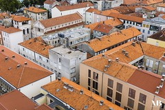 Croatian Terracotta (aidan_brooks) Tags: city sun holiday ariel town europe terracotta croatia stunning split med zadar zadarcounty