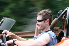 Larry at Speed in Cobra