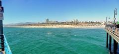 Santa Monica from the Pier (Joe Lach) Tags: ocean california beach skyline buildings pier sand santamonica pacificocean santamonicapier joelach
