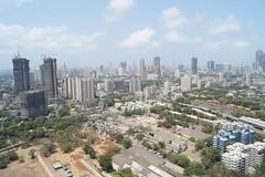 Mumbai Springs (Vidur Malhotra) Tags: city sea sky urban india tower skyline modern clouds skyscraper view floor harbour cityscapes views bombay highrise mumbai scape 34th megapolis dadar wadala
