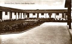 Squires Gates Holiday Camp, Blackpool (trainsandstuff) Tags: vintage postcard retro lytham archival blackpool pontins holidaycamp squiresgate