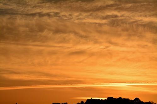 Sunset over Newport (1)