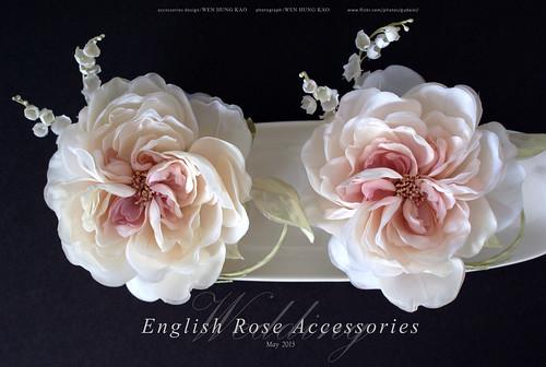 訂製系列-英倫玫瑰頭飾