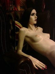 Make over Rootstein (JAMES @ studio 136) Tags: sexy mannequin girl leather dark tv chair doll babe programs rootstein evagreen pennydreadful nicetuts