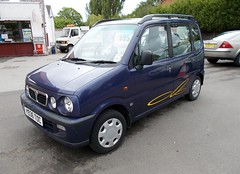 2001 PERODUA KENARI 989cc EZ Y936TOC (Midlands Vehicle Photographer.) Tags: 2001 ez perodua kenari 989cc y936toc