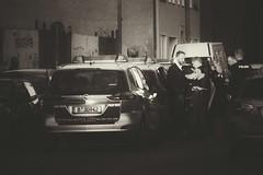 Wie im Film: Verhaftung auf offener Straße