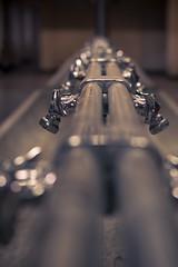 Wasserversorgung (Herr Olsen) Tags: plant industry 50mm wasser fabrik industrie sinks chrom solingen albrecht waschbecken armaturen wasserhhne waschkaue evertz kieserling