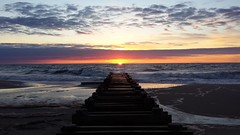 Prior Perspective (Along the way...) Tags: sunrise perspective newjerseyshore