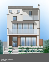 CDM Project (CjK. Arch) Tags: architecture modern design renderings architectural coronadelmar rendering schematic modernhome kampsfalconearchitects