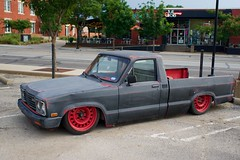 Low Rider (kenmes) Tags: dallas cedars lamar street low rider car truck