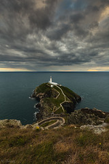 South Stack (nigel.barry22) Tags: cloud sky storm sea ocean cliff rock southstack lighthouse holyhead anglesey