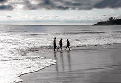 The Three Musketeers (Forat Alawsii) Tags: california sea usa cloud beach beautiful three los angeles laguna musketeers the