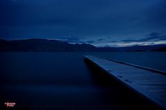 Serenity (MBates Foto) Tags: serenity dusk water blue dock kelowna canada lakeokanagan lakes longexsposure nikon nikond810 night britishcolumbia