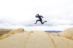 Mitch Jump (dominate15) Tags: findyourpark nationalparks explore travel outdoors hiking outside climb joshuatree jump jumping jtree flickrheroes