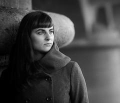 ... (pixel-art) Tags: winter portrait blackandwhite hp5 ilford filmphotography mamiya645protl kodakhc110 analoguevibes